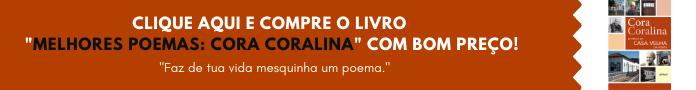 Banner de Compra - Livro Melhores Poemas: Cora Coralina