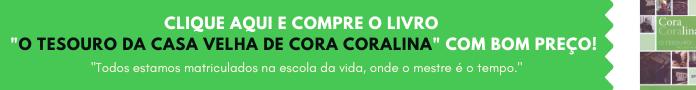 Banner de Compra - Livro O Tesouro da Casa Velha de Cora Coralina