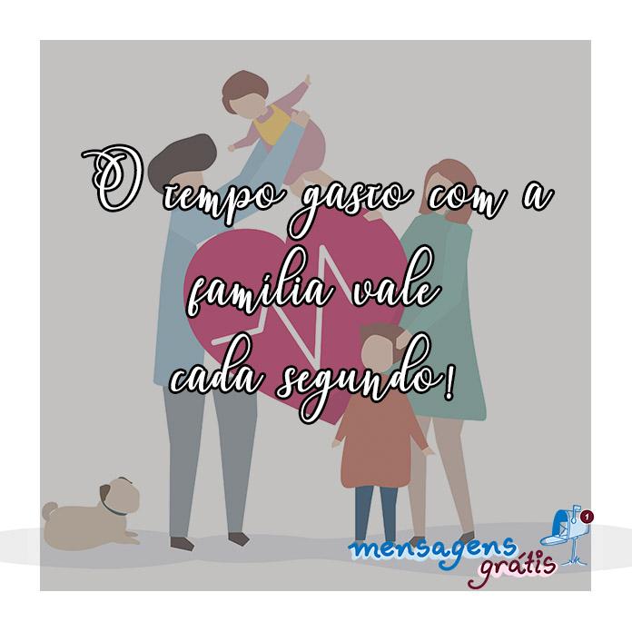 Mensagem de Amor para Família
