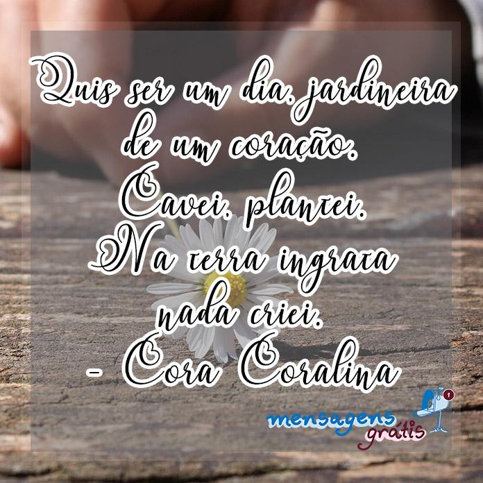Mensagens de Cora Coralina