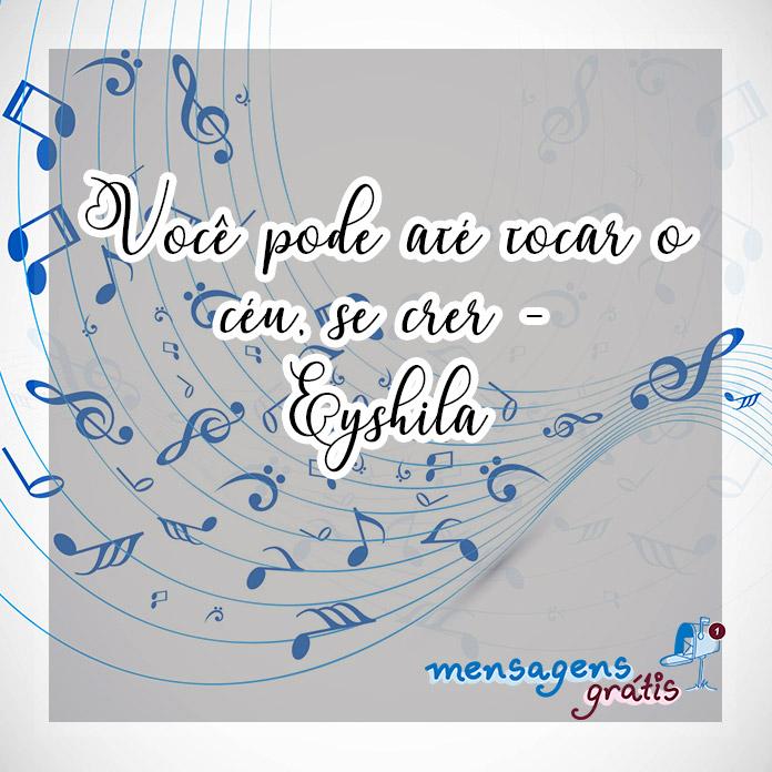 Frases de Músicas Evangélicas
