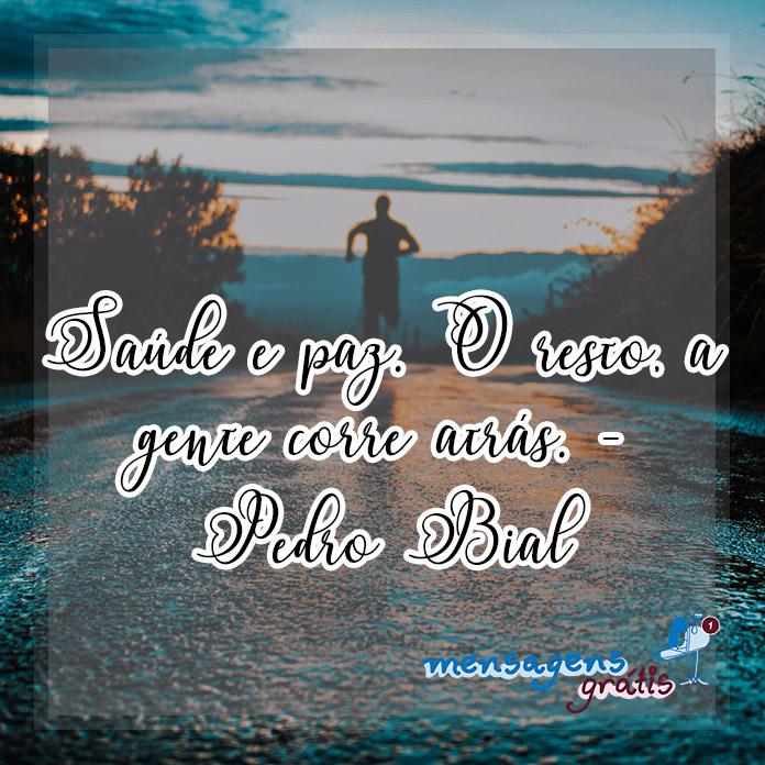 Frases de Pedro Bial