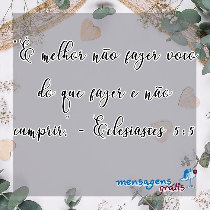 Eclesiastes 5:5