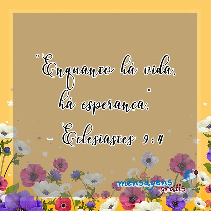 Eclesiastes 9:4