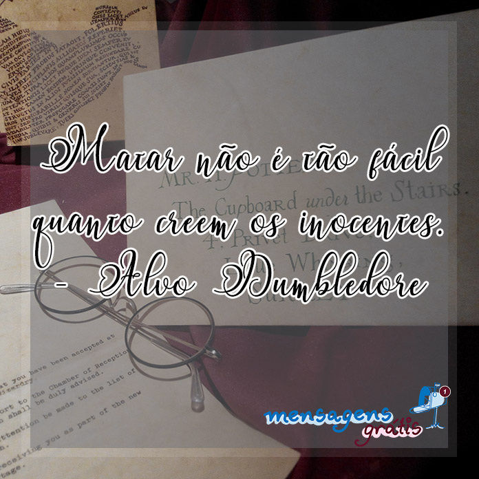 Frases do Alvo Dumbledore