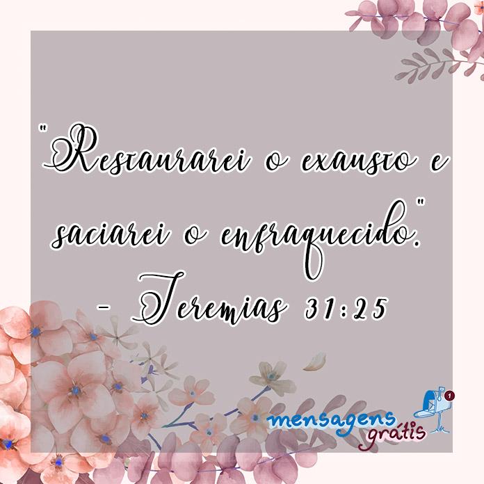 Jeremias 31:25