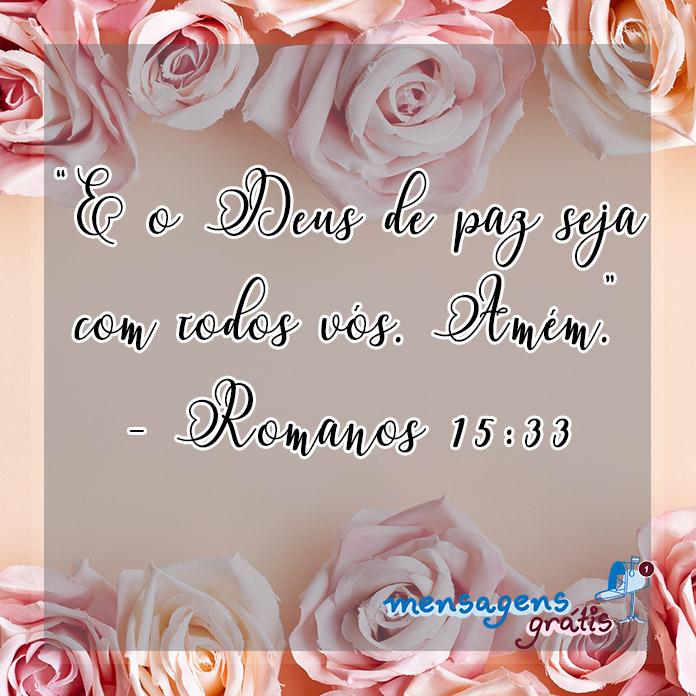 Romanos 15:33