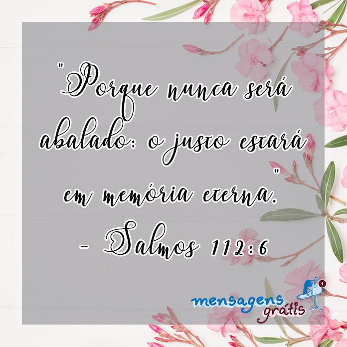 Salmos 112:6