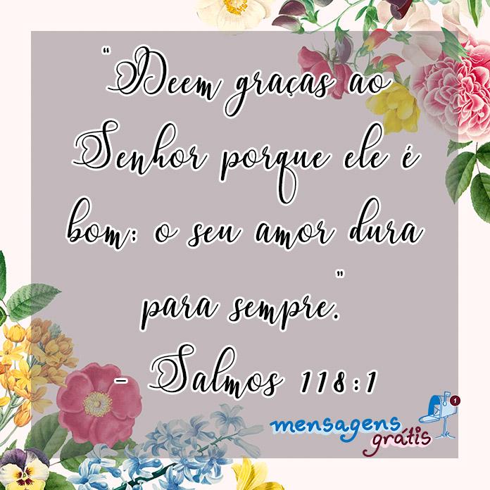 Salmos 118:1