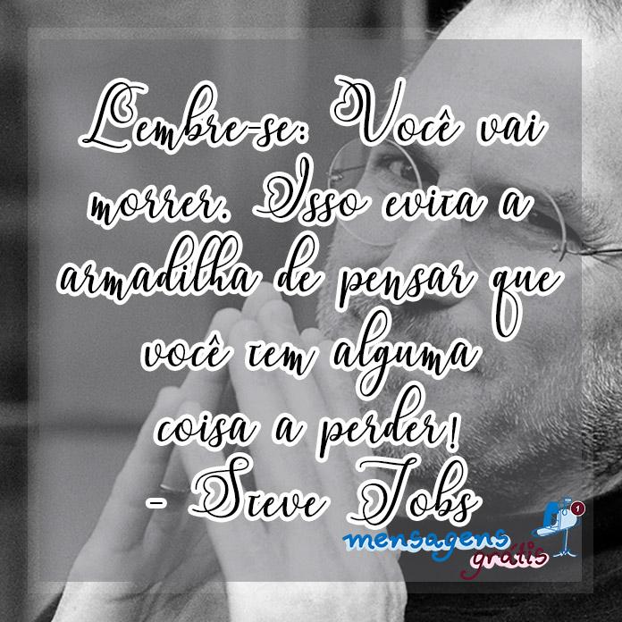 Frases de Steve Jobs para se Inspirar