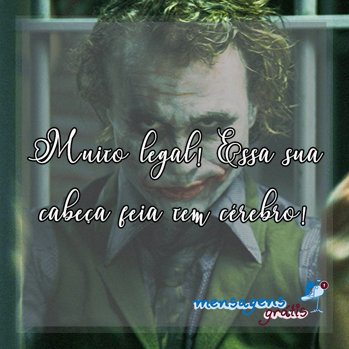 Imagens com Frases do Coringa 03