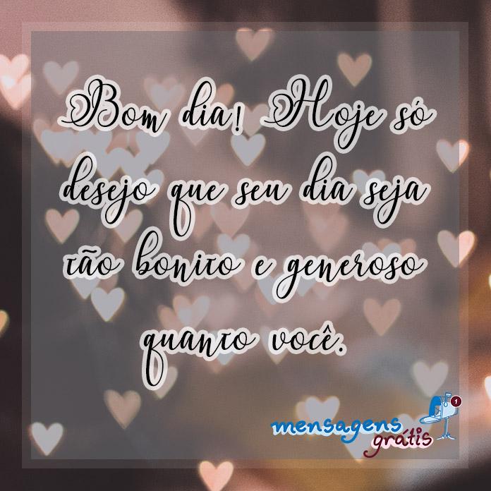 Mensagem de Bom Dia para Namorado(a)