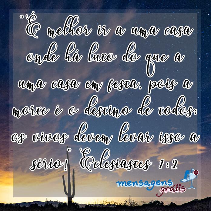 Eclesiastes 7:2