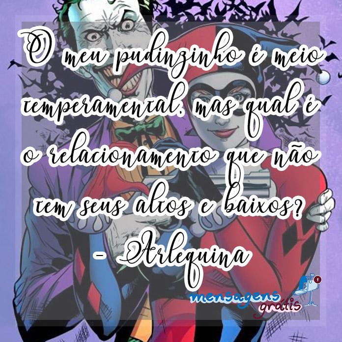 Frases da Arlequina Coringa