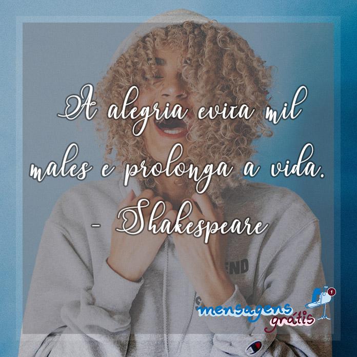Frases de William Shakespeare Sobre a Vida