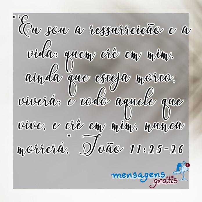 João 11:25-26