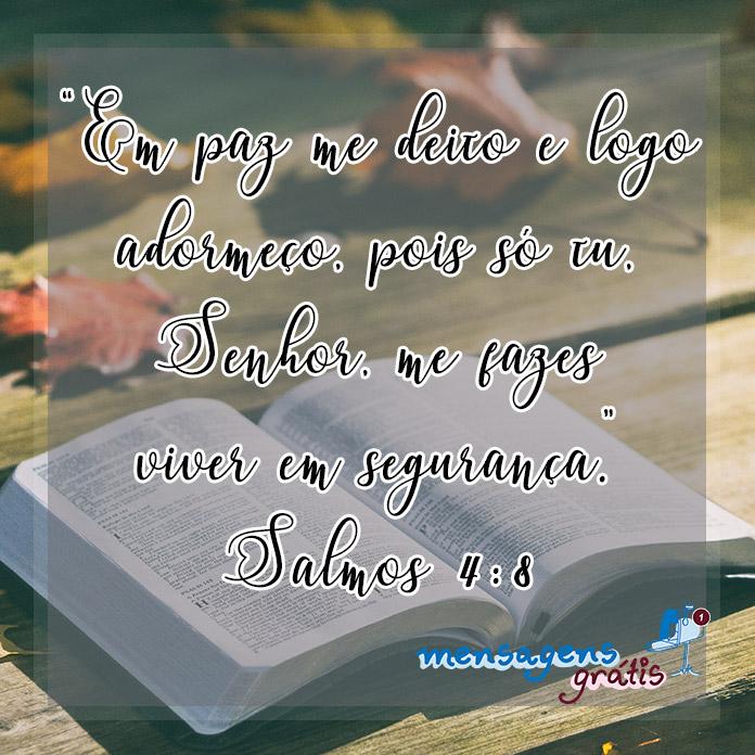 Mensagens da Bíblia para Desejar Boa Noite