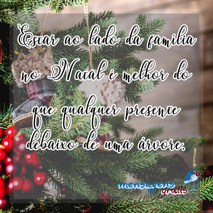 Mensagens de Feliz Natal para a Família