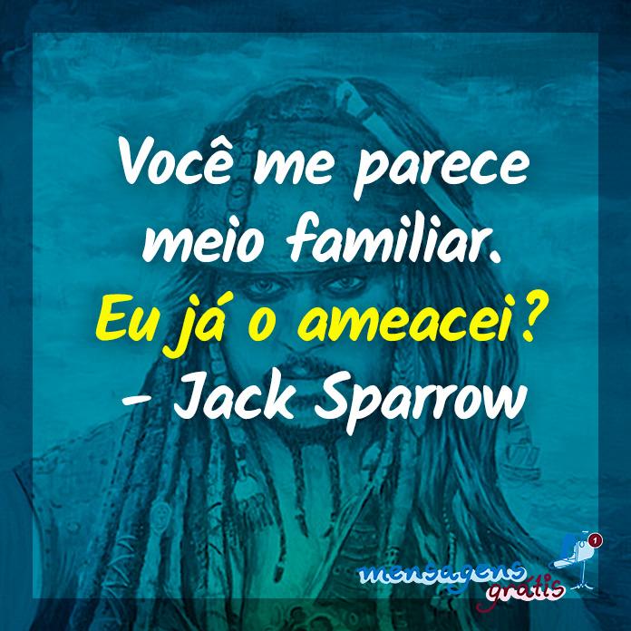Frases Engraçadas do Jack Sparrow