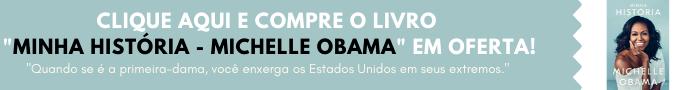 Banner de Compra - Livro Minha História - Michelle Obama